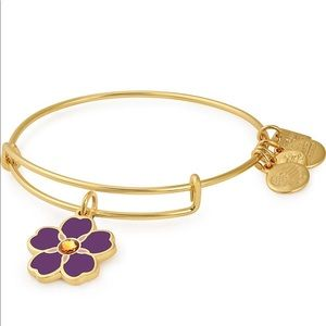 Alex and Ani Forget me not bracelet